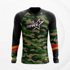 kaos jersey militer printing